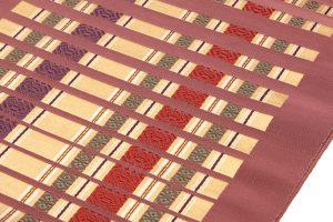 小川規三郎作 献上博多織八寸帯 浮織献上のサブ2画像