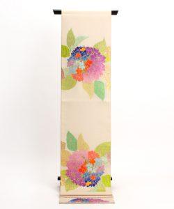 龍村平蔵謹製 夏袋帯「あぢさい錦」のメイン画像