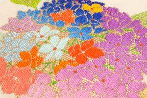 龍村平蔵謹製 夏袋帯「あぢさい錦」のサブ1画像