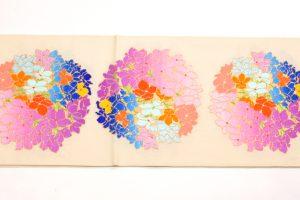 龍村平蔵謹製 夏袋帯「あぢさい錦」のサブ2画像