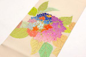 龍村平蔵謹製 夏袋帯「あぢさい錦」のサブ5画像