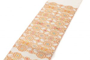 龍村平蔵製 袋帯「乾隆蜀紅錦」のサブ1画像
