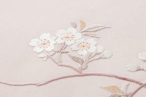 手刺繍 塩瀬名古屋帯のサブ2画像