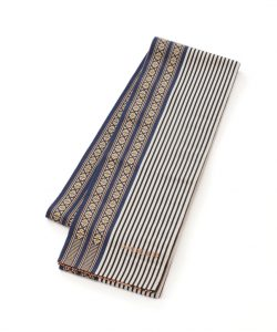 小川規三郎作 献上博多織半巾帯のメイン画像