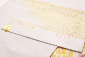 龍村美術織物製 袋帯地「彩華稜映錦」 のサブ4画像
