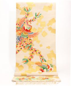 藤原織物製 綴れ丸帯地のメイン画像