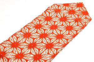 南部茜染 草紫堂謹製 綿九寸帯のサブ1画像