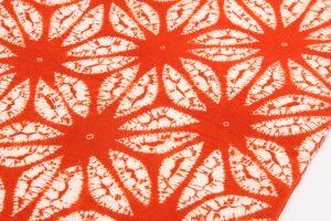 南部茜染 草紫堂謹製 綿九寸帯のサブ2画像