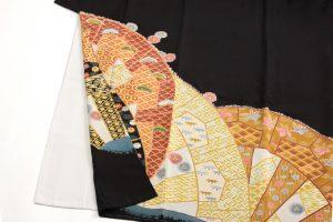 木村雨山作 本加賀友禅留袖のサブ2画像