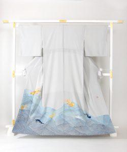 五代目 田畑喜八作 色留袖のメイン画像