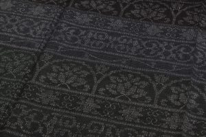 本場結城紬訪問着 100亀甲総詰絣のサブ3画像