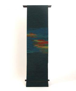 北海道手織り紬 優佳良織紬名古屋帯のメイン画像