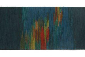 北海道手織り紬 優佳良織紬名古屋帯のサブ3画像