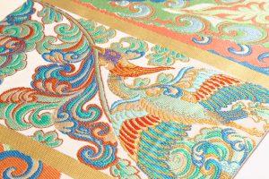 龍村平蔵製 袋帯 「敦煌雲鳥文」 のサブ2画像