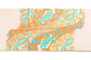 龍村平蔵製 袋帯 「敦煌雲鳥文」 のサブ3画像