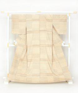志村ふくみ作 紬着物のメイン画像