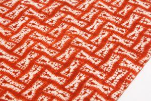茜染 綿九寸帯のサブ2画像