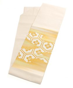 川島織物謹製 本金箔綴れ八寸帯のメイン画像