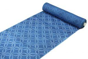 千葉よしの作 正藍染 上布 着尺のサブ1画像