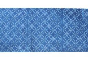 千葉よしの作 正藍染 上布 着尺のサブ3画像