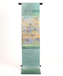 川島織物謹製 プラチナ箔本袋帯のメイン画像