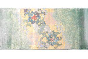 川島織物謹製 プラチナ箔本袋帯のサブ3画像