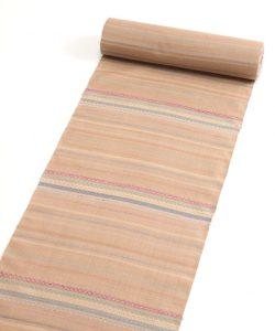 山本和子作 花織紬着尺「海のおくりもの」のメイン画像