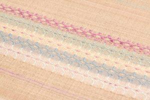 山本和子作 花織紬着尺「海のおくりもの」のサブ2画像