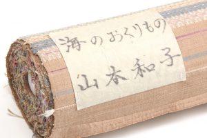 山本和子作 花織紬着尺「海のおくりもの」のサブ3画像