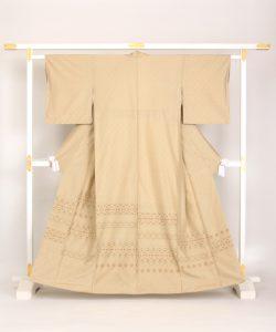 宮平初子作 花織紬訪問着のメイン画像