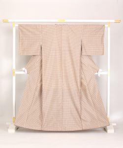 菊池洋守作 八丈織 着物のメイン画像
