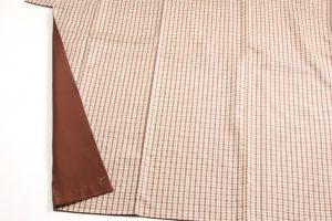 菊池洋守作 八丈織 着物のサブ2画像