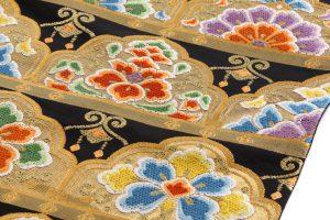 川島織物製 本金箔本袋帯地 のサブ4画像
