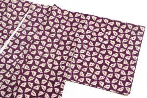 紫根染め 紬着物のサブ1画像