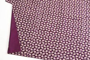 紫根染め 紬着物のサブ2画像