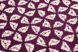 紫根染め 紬着物のサブ3画像