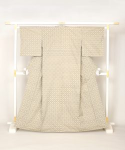 人間国宝 北村武資作 経錦織着物のメイン画像