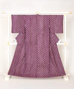 草紫堂製 南部紫根染 綿着物のメイン画像