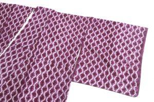 草紫堂製 南部紫根染 綿着物のサブ1画像