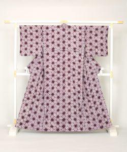 草紫堂謹製 南部紫根染 綿着物のメイン画像