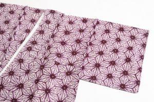 草紫堂謹製 南部紫根染 綿着物のサブ1画像