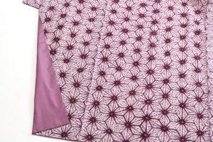 草紫堂謹製 南部紫根染 綿着物のサブ2画像