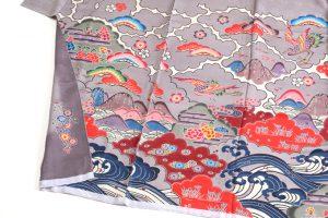 城間栄順作 琉球紅型振袖のサブ2画像