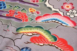 城間栄順作 琉球紅型振袖のサブ3画像