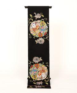 龍村平蔵製 袋帯 「人形手印金錦」のメイン画像