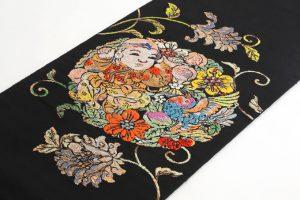 龍村平蔵製 袋帯 「人形手印金錦」のサブ1画像
