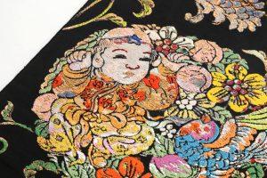 龍村平蔵製 袋帯 「人形手印金錦」のサブ2画像