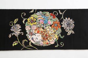 龍村平蔵製 袋帯 「人形手印金錦」のサブ3画像