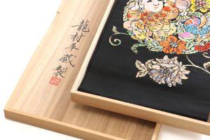 龍村平蔵製 袋帯 「人形手印金錦」のサブ5画像