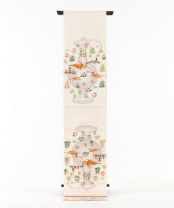 龍村平蔵製 袋帯 「幻彩漆朔瓶」のメイン画像